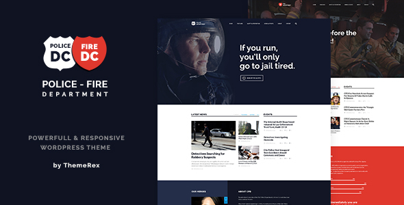 Police Department and Security Business Theme            TFx