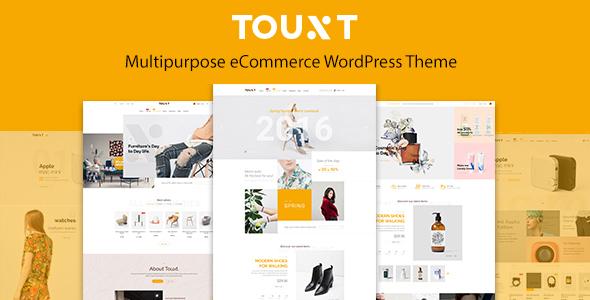 Touxt Multipurpose WooCommerce WordPress Theme            TFx