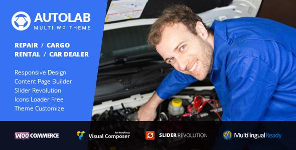 AutoLab - Auto Repair, Rental, Cargo & Dealer WordPress Theme            TFx