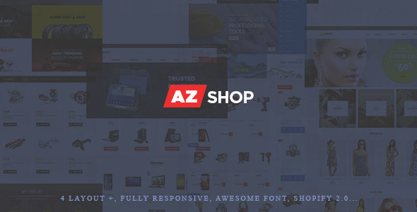 Azshop - Shopify Theme            TFx