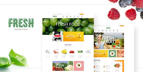 Fresh Food - Fruit Store Shopify Theme            TFx