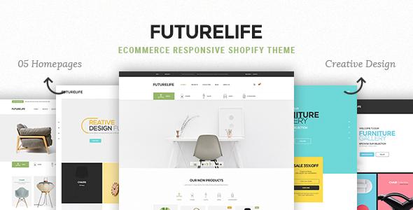 Futurelife - eCommerce Responsive Shopify Theme            TFx