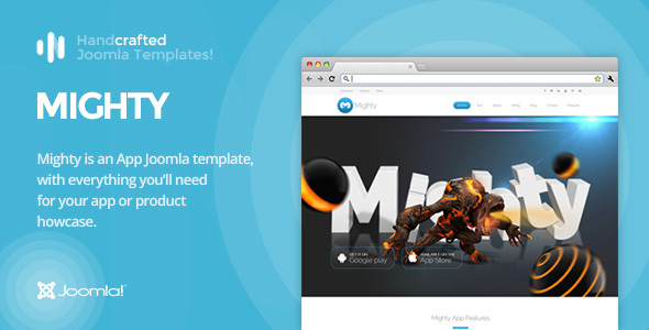 IT Mighty - App & Product Showcase Joomla Template Gantry 5            TFx