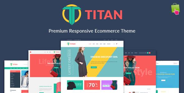 JMS Titan - Responsive Prestashop Theme            TFx