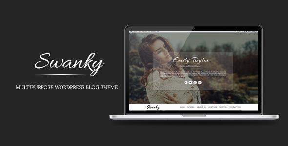 Swanky - Multipurpose WordPress Blog Theme            TFx