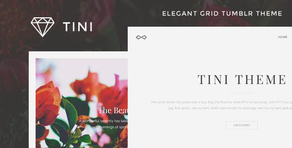 Tini - Elegant Grid Tumblr Theme            TFx
