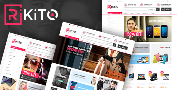 Vina Rikito - Responsive VirtueMart Joomla Template            TFx