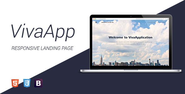 VivaApplication - HTML Landing Page            TFx