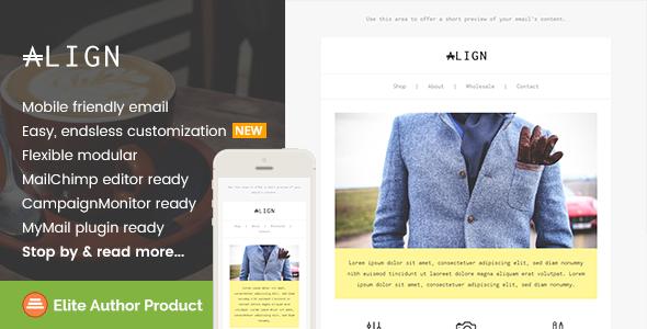 Align, Minimaist Fashion Email + Builder Access            TFx