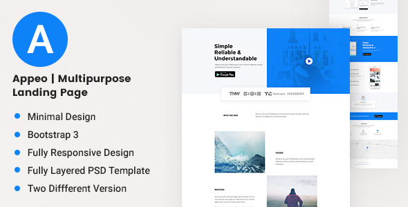 Appeo | Multipurpose Landing Page            TFx
