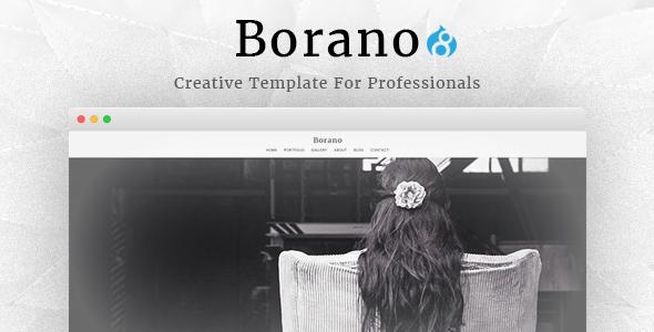 Borano - Photography / Portfolio Drupal 8 Theme            TFx