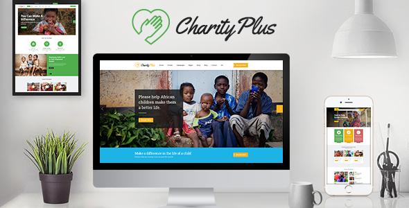 CharityPlus - Multipurpose Nonprofit Charity Organization PSD Template            TFx