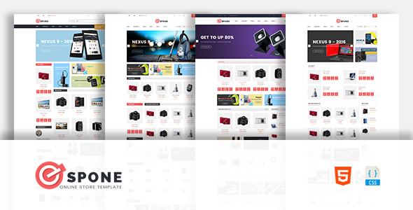 Espone – Electronics eCommerce Template            TFx