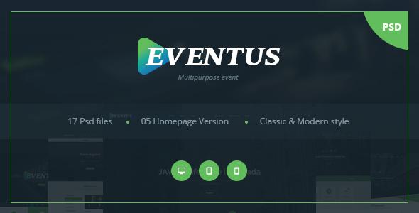 Eventus - Multipurpose Event PSD Templates            TFx