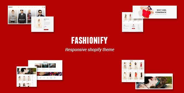 Fashionify - Responsive UX Shopify Theme            TFx