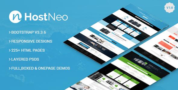 HostNeo - Professional Web Hosting Responsive HTML5 Template            TFx