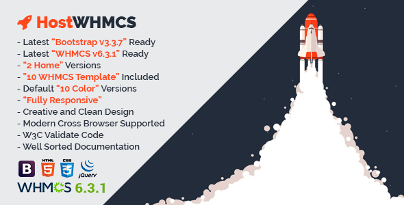 HostWHMCS | Responsive Web Hosting with WHMCS Template            TFx