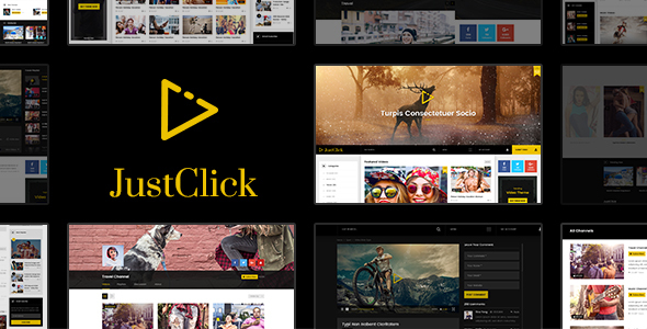 JustClick - Powerful Video Template            TFx