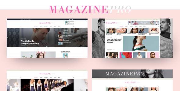 Magazine PRO - Stylish & Modern NEWS HTML Template            TFx