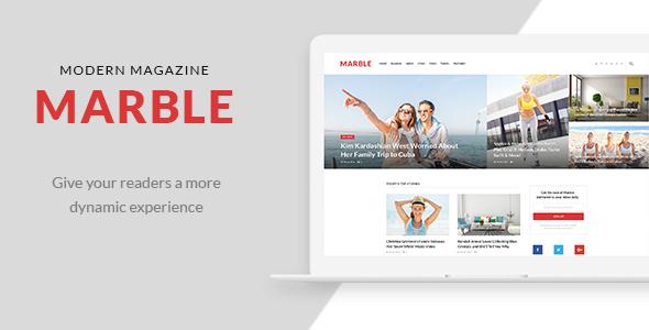 Marble - Modern Magazine            TFx
