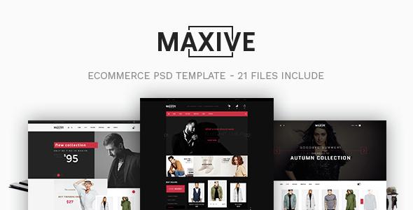 Maxive Responsive Shopify Theme             TFx