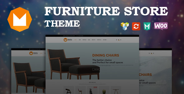 Mobilia - Furniture WooCommerce WordPress Theme            TFx