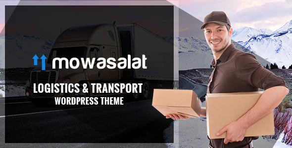 Mowasalat - Logistic and Transports WP Theme            TFx