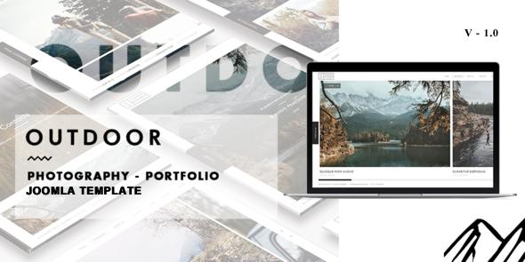 Outdoor - Creative Photography/Portfolio Joomla Template            TFx