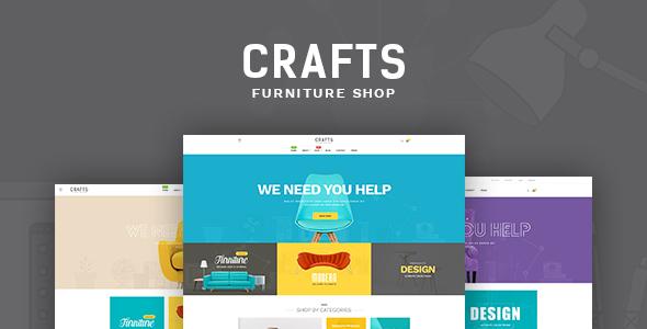 Pav Crafts - Multipurposes Opencart theme for Furniture & Decor            TFx