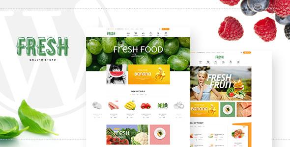 Pts Fresh - Responsive Food & Restaurant Prestashop Theme            TFx