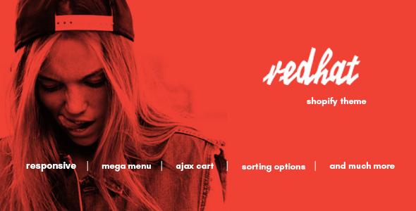 Redhat - Urban Clothing Shopify Theme            TFx
