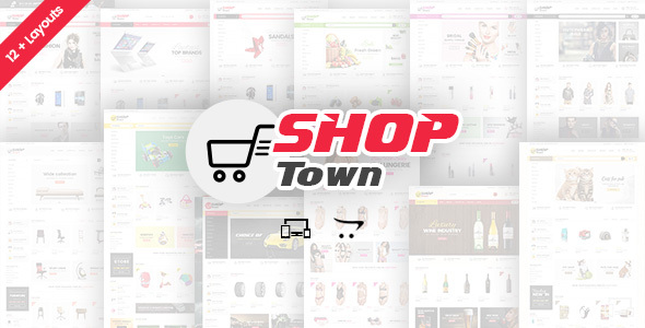Shop Town - Multipurpose OpenCart Theme            TFx