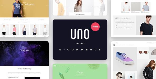 UNO - Multi Store Responsive HTML Template            TFx