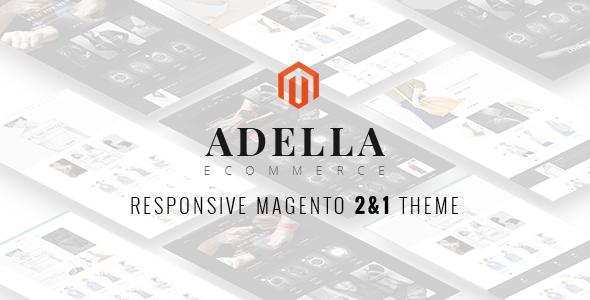 Adella Responsive Magento Theme            TFx