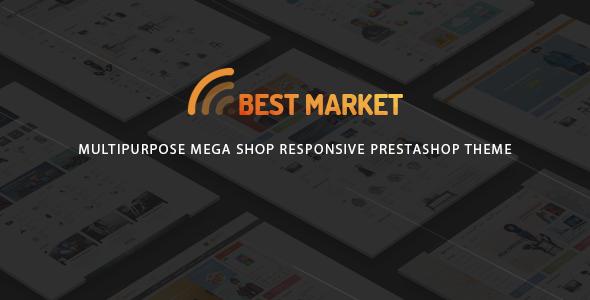 BestMarket - Multipurpose Mega Shop Responsive Prestashop Theme            TFx
