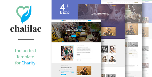 Chalilac - Nonprofit Charity Template            TFx