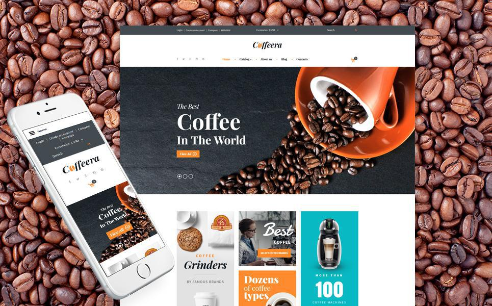 Coffeera VirtueMart Template TMT
