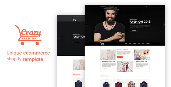 Crazy Fashion - Shopify Responsive Theme            TFx