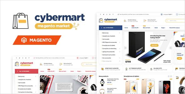 Cybermart - Responsive Magento Theme            TFx