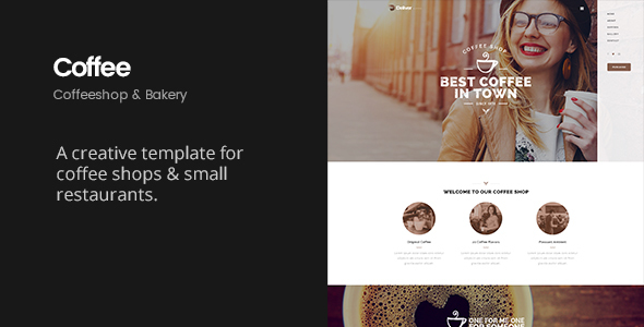 Deliver Coffee | Coffee Shop HTML Template            TFx
