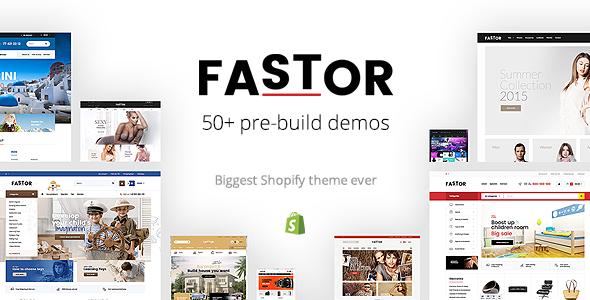 Fastor - Multipurpose Responsive Shopify Theme            TFx