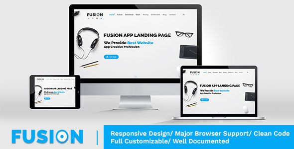 Fusion - Responsive Multipurpose - HTML Template            TFx