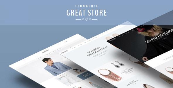 GREAT STORE - eCommerce Prestashop Theme            TFx