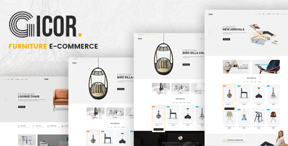 Gicor - Furniture Responsive Prestashop Theme            TFx