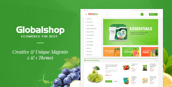 Global Market Magento 2 Template            TFx