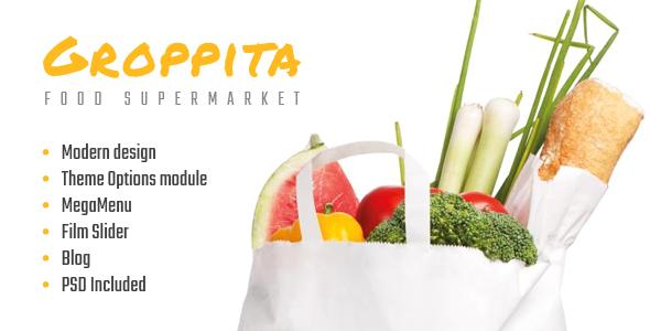 Gropitta - Food Supermarket Magento 2 Theme            TFx