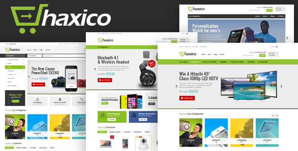 Haxico - Technology Responsive Prestashop Theme            TFx