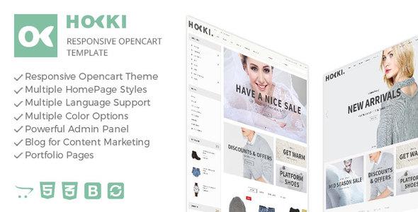 Hoki - Responsive Opencart Theme            TFx
