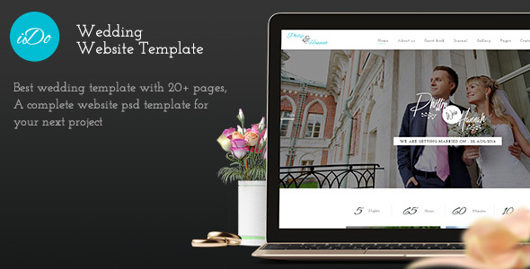 I Do - PSD Wedding Template            TFx