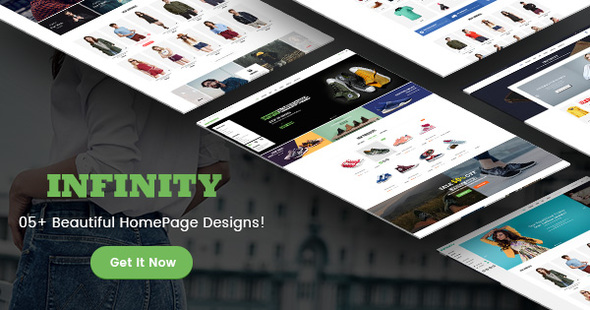 Infinity - Fashion/Sport eCommerce PSD Template            TFx